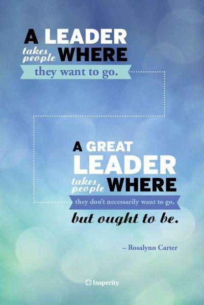 leader vs great leader